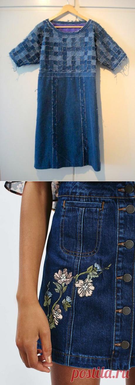 Джинсовые переделки: панамки, шляпки, сумки, юбки и прочее | Рукоделие