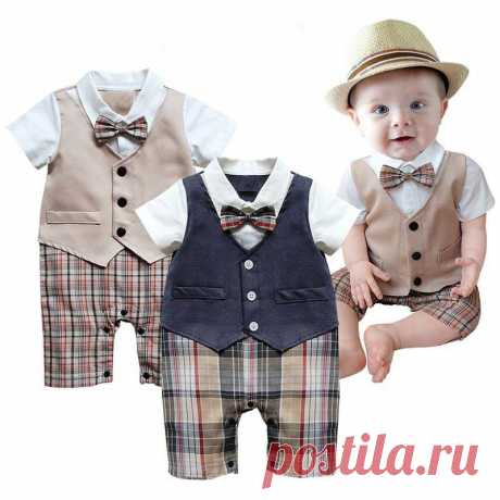 Toddler Vetement 2017 Baby Boy Rompers Summer Baby Clothes Short Sleeve Roupas Infant Jumpsuits Newborn Baby Boys Clothing Sets #>=#>=#>=#>=#> Click on the pin to check out discount price, color, size, shipping, etc. Save and like it!