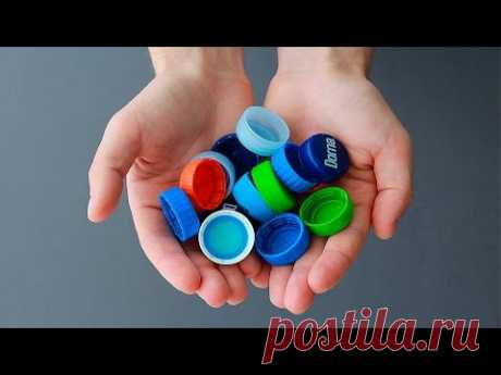 What it is possible to make of covers from plastic bottles \/ What can be made out of plastic bottle lids