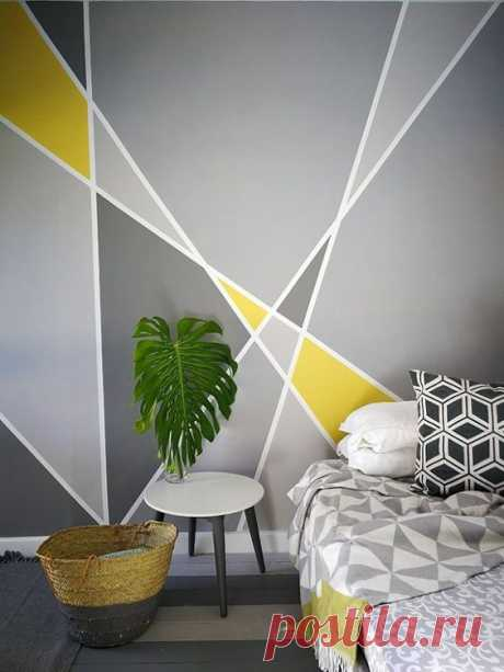 Как полностью преобразить комнату с помощью серой краски