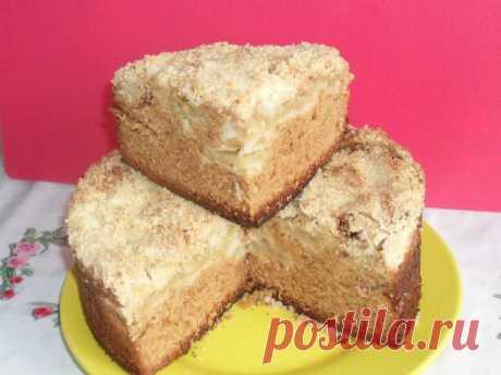Домашний яблочно-медовый пирог. Вкуснее не бывает!