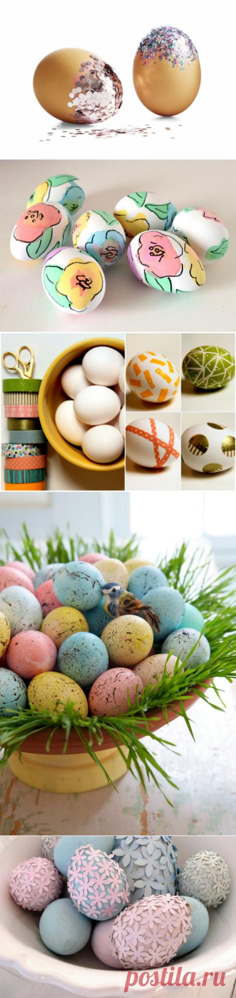 Свежие идеи декора яиц к празднику Пасхи | Мой дом