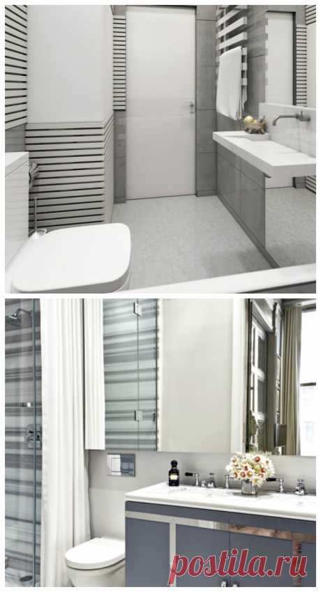 60 идей ванной комнаты совмещенной с туалетом