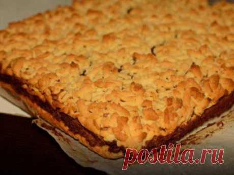 «Тертый пирог с джемом» – рецепт, который будет передаваться в вашей семье из поколения в поколение!