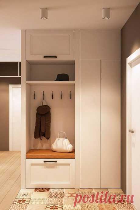Маленькая прихожая. Дизайн, меблировка, освещение. 12 рекомендаций | Дизайн и Культура | Яндекс Дзен
