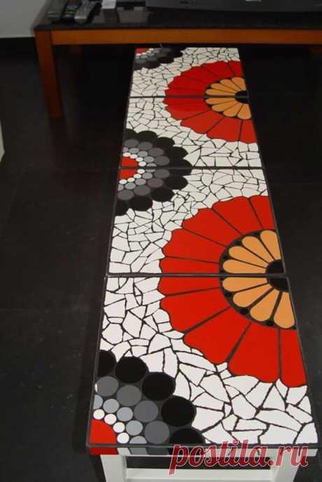 Обязательно попробуйте! Мозаика из битой плитки: как сделать своими руками | 6 соток