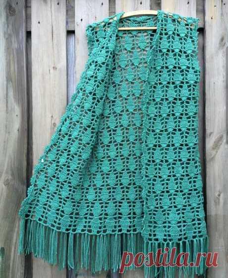 Pattern for a vest