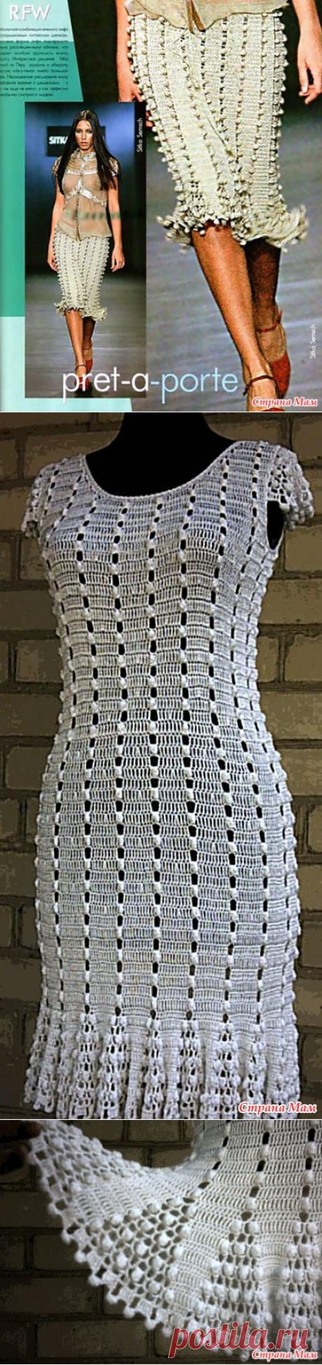 Как хорошо уметь вязать: Юбка и платье крючком...