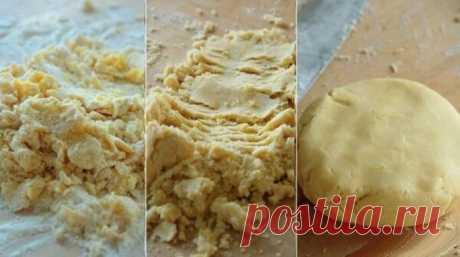 Универсальный рецепт песочного теста: хочешь сладкие, хочешь с мясом
