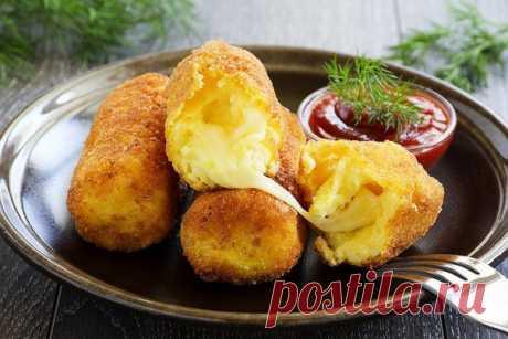Картофельные крокеты с моцареллой / Дети - это счастье!