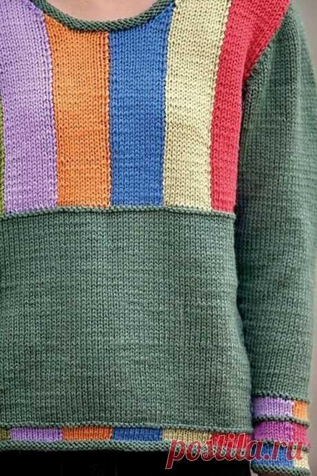 Вязаная одежда с простым графическим рисунком. Примеры интересных моделей. | Handmade для всех | Яндекс Дзен