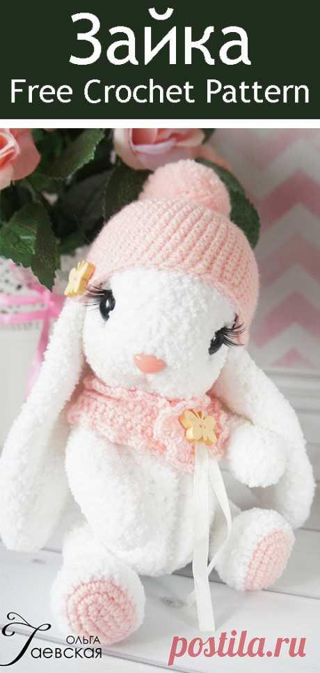 PDF Зайка. FREE amigurumi crochet pattern. Бесплатный мастер-класс, схема и описание для вязания игрушки амигуруми крючком. Вяжем игрушки своими руками! Кролик, заяц, зайчик, зайка, rabbit, hare, bunny. #амигуруми #amigurumi #amigurumidoll #amigurumipattern #freepattern #freecrochetpatterns #crochetpattern #crochetdoll #crochettutorial #patternsforcrochet #вязание #вязаниекрючком #handmadedoll #рукоделие #ручнаяработа #pattern #tutorial #häkeln #amigurumis