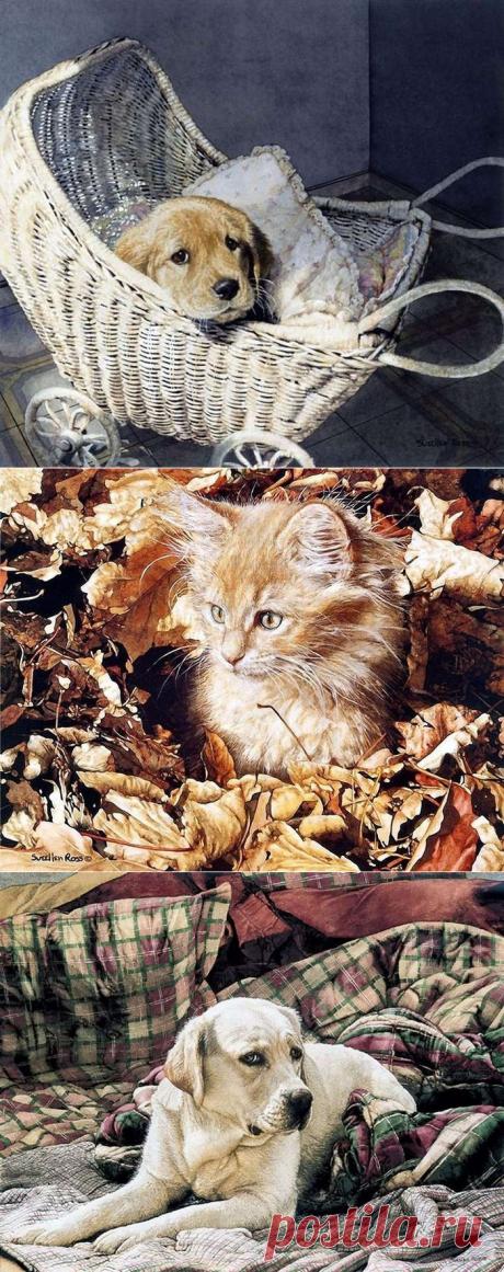 Животные в живописи Суэлен Росс