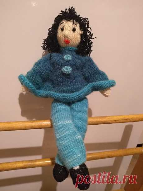 Кукла в пончо. Вязаные игрушки - подарок любимым: Каталог