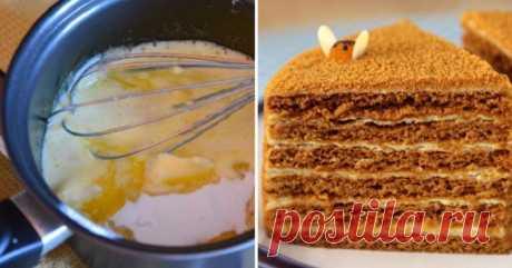 Домашний торт медовик - Женская красота