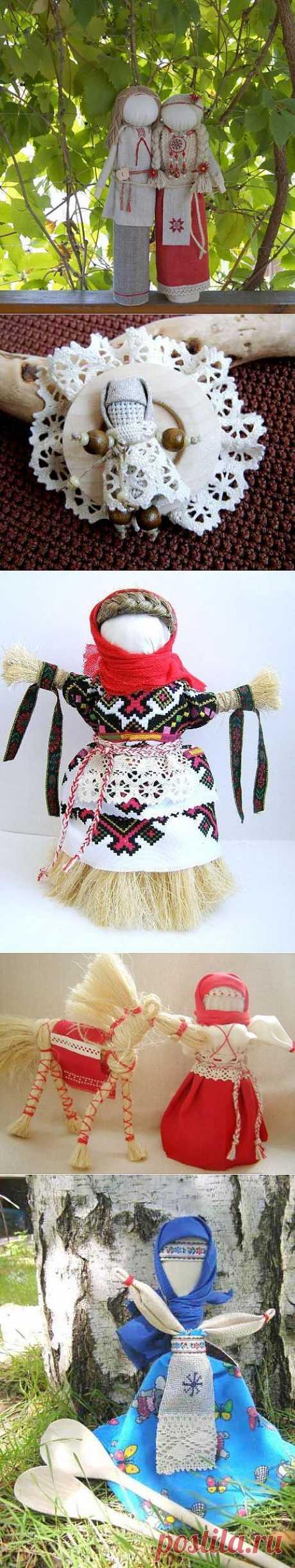 Las Muñecas-guarda en la cultura Eslava. La parte 2 \/ los juguetes Diversos de la labor a mano \/ PassionForum - las clases maestras por la costura