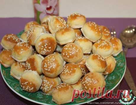 Закусочные пирожки-малютки с начинкой