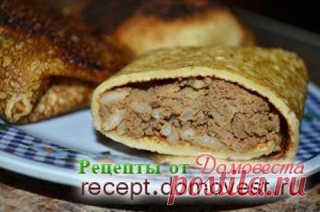 Как из печени сделать вкусную начинку для фаршированных блинчиков и пирожков » Рецепты от Домовеста