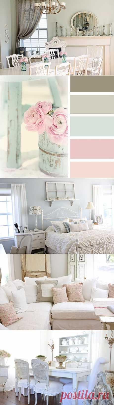 Романтичный стиль интерьера Шебби Шик ~ Sweet home