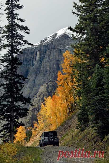 """justemoinue2: """"Clear Lake Jeep Trail, Silverton, Colorado """""""