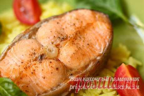 Рыба на пару и рис в мультиварке одновременно - рецепт с фото пошагово