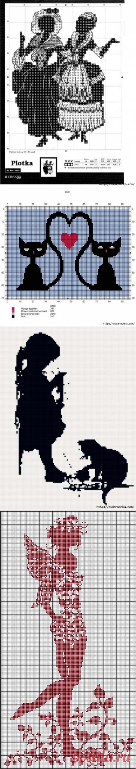 монохромная вышивка | Записи в рубрике монохромная вышивка | Дневник Юлия_Ж