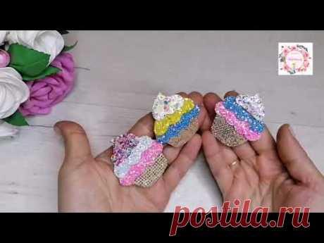 Самые летние вкусные заколочки. Клик-клак из фетра и кожзама. DIY MK Eco-leather