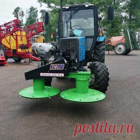 Фронтальная навесная косилка на трактор МТЗ 82 купить в Беларуси, цены в каталоге Selagro