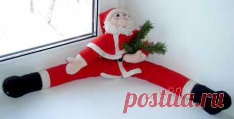 * Дед Мороз - утеплитель окна