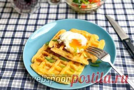Сырные вафли, рецепт с фото пошагово на Webspoon.ru
