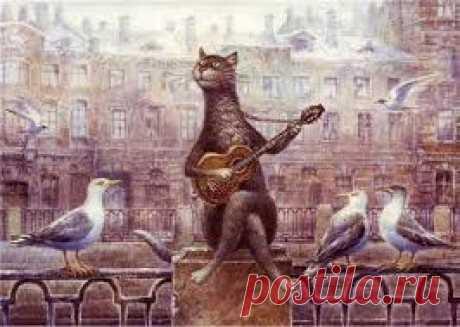 романтичные коты