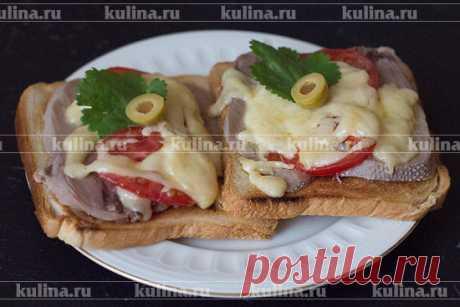 Быстрые бутерброды – рецепт приготовления с фото от Kulina.Ru