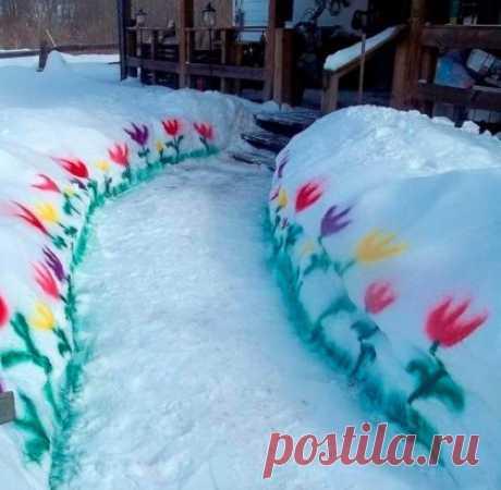 Когда уже очень хочется весны! ... :)))