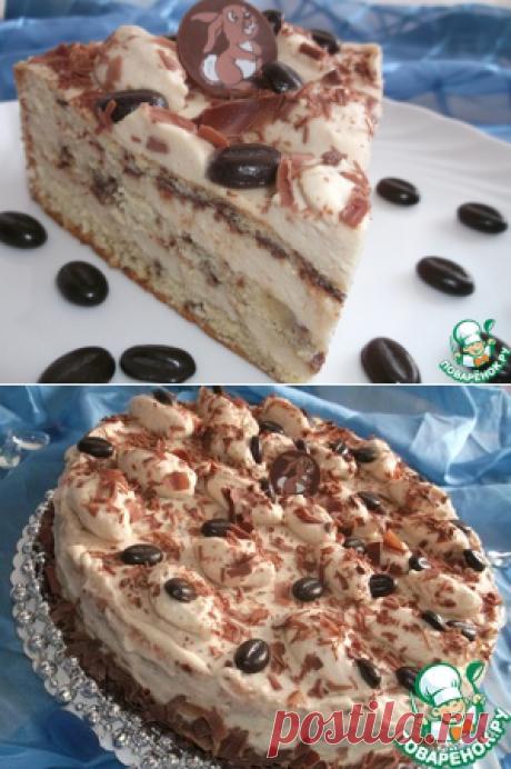 """Торт """"Капуччино шоколадный"""" - кулинарный рецепт"""