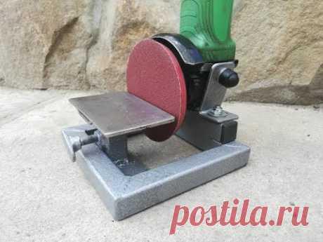 Стойка из болгарки. Idea Stand for angle grinders.