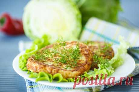 Как приготовить котлеты из капусты на обед | Вкусные рецепты