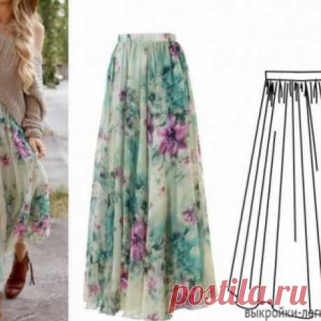 Simple summer skirts: patterns with the description. Summer in the heat! Indulge yourself with a beautiful new thing!