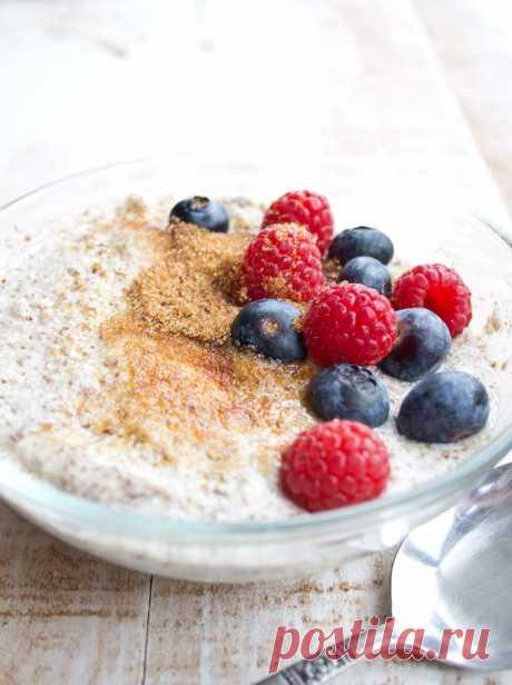 Creamy Keto Low Carb Porridge – Sugar Free Londoner