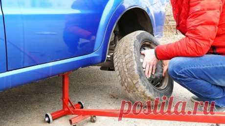 Как сделать домкрат для мгновенного подъема автомобиля своими руками