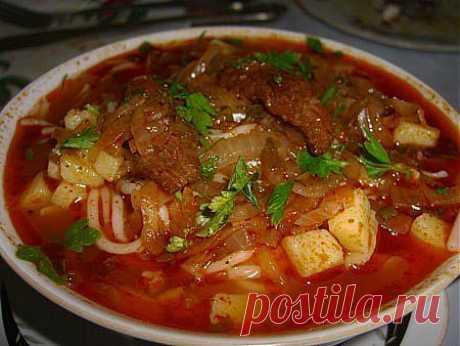 La sopa uzbeka espesa - lagman | el Banco de las recetas de cocina