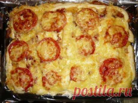 Нежная пицца без теста. Рецепт у меня как палочка - выручалочка! | Четыре вкуса