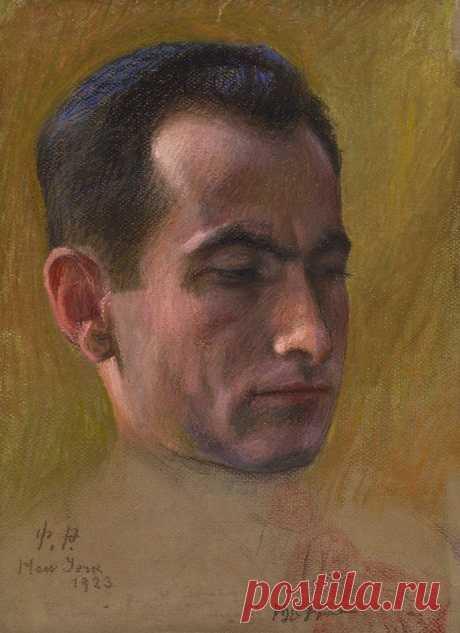 ՍՈՂՈՄՈՆ ԹԵՀԼԵՐՅԱՆԻ ԴԻՄԱՆԿԱՐԸ (1923 թ, թուղթ, կավճամատիտ)  Հեղինակ՝ Փանոս Թերլեմեզյան