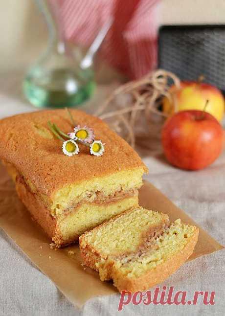 Яблочный пирог с корицей по-югославски. Автор: larik_malasha