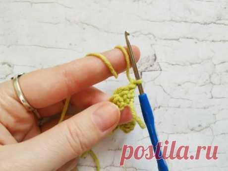 Самый простой способ вязания вытянутых петель