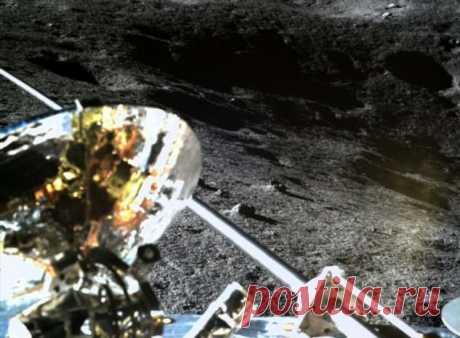 Китай опубликовал фотографии с Луны, сделанные Юйту-2 . Тут забавно !!!