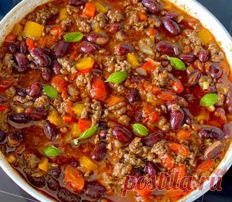 Чили с говядиной / Блюда из мясного фарша / TVCook: пошаговые рецепты с фото