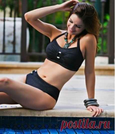Buy The Latiere Black Halter Neck Bikini   Jamu Australia