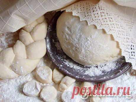 Дрожжевое постное тесто - пошаговый рецепт с фото