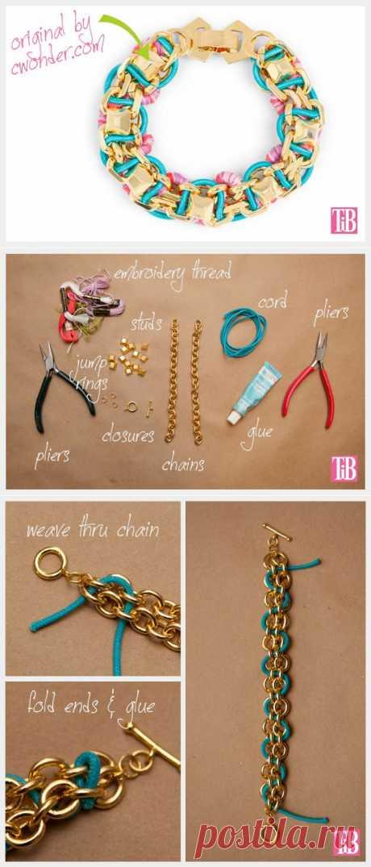 Сложносочиненный браслет (Diy) / Украшения и бижутерия / Модный сайт о стильной переделке одежды и интерьера