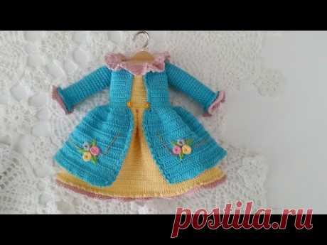 Pretty dress Arms less style / doll dresses